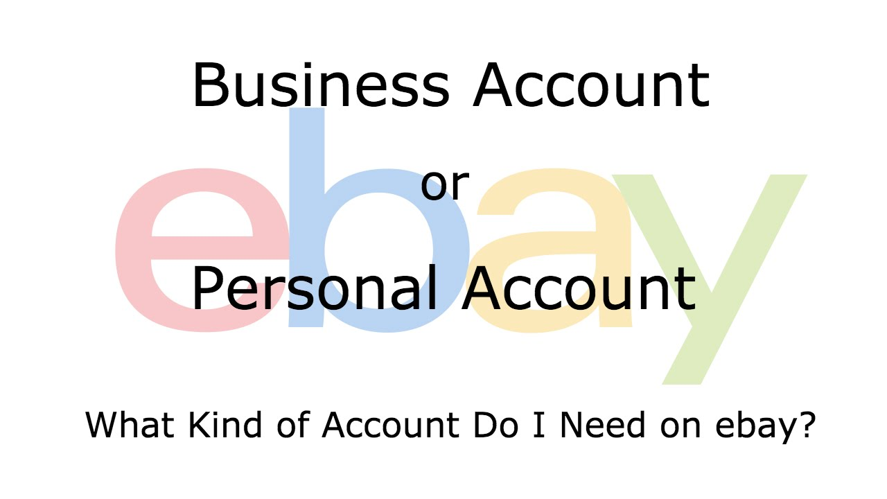 Lavoro a tempo pieno e account business di eBay