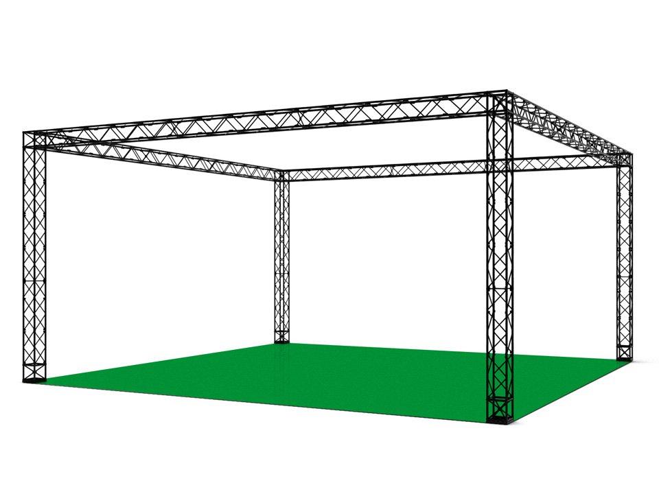 I vantaggi delle strutture a traliccio negli stand fieristici